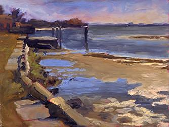 Bayfront Painting by Brennan King