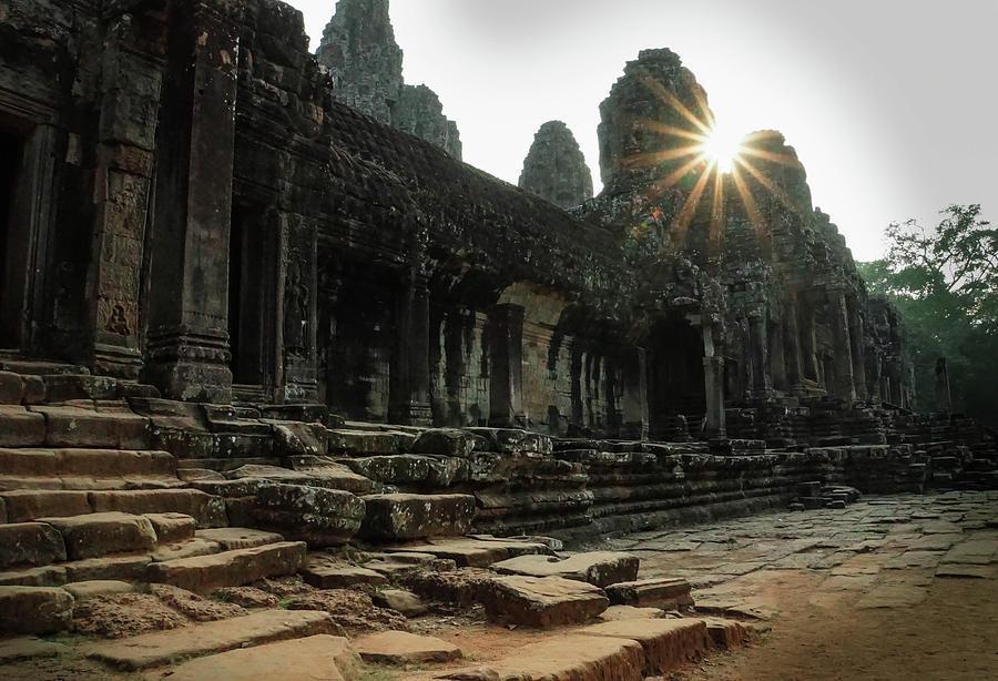 Bayon Temple Photograph by Paki OMeara
