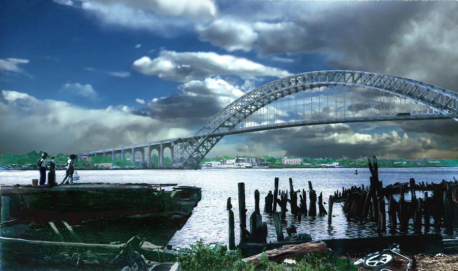 Bayonne Bridge Photograph