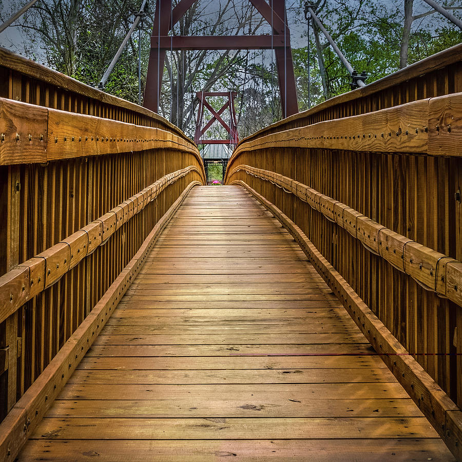 Bayou Foot Bridge Photograph