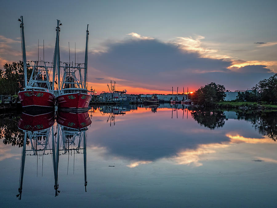 Bayou Sunset by Brad Boland