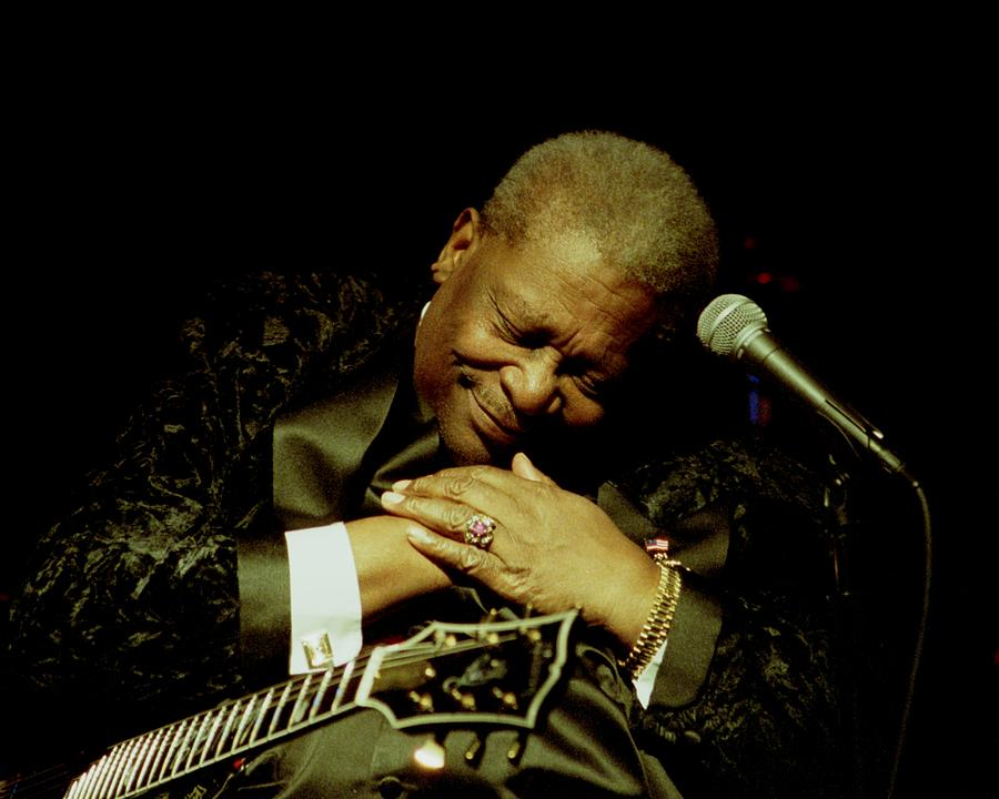 Bb King Photograph - Bb King - Straight From The Heart by Bob Guthridge