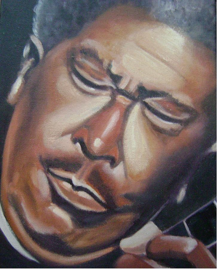 B.b. King Painting - B.b. King by Toni Berry