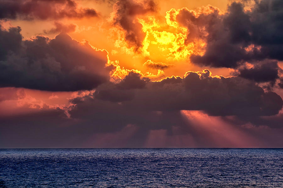 Orange Photograph - Be Quiet by Stelios Kleanthous