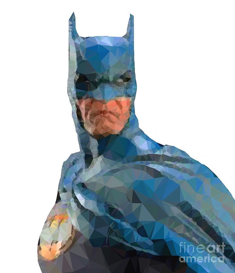 Batman Digital Art - Be Scared by Helge