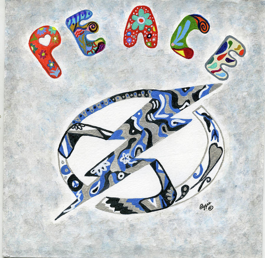 Be the Peace by Stephanie Agliano