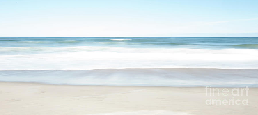 Beach Abstract by Michael James