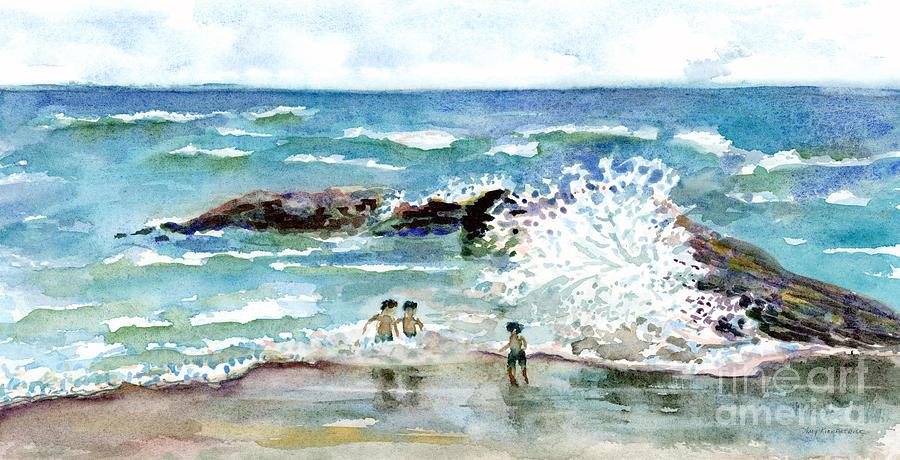 Beach Amigos Painting