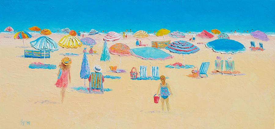 Beach Painting - Beach Art - Every Summer Has A Story by Jan Matson