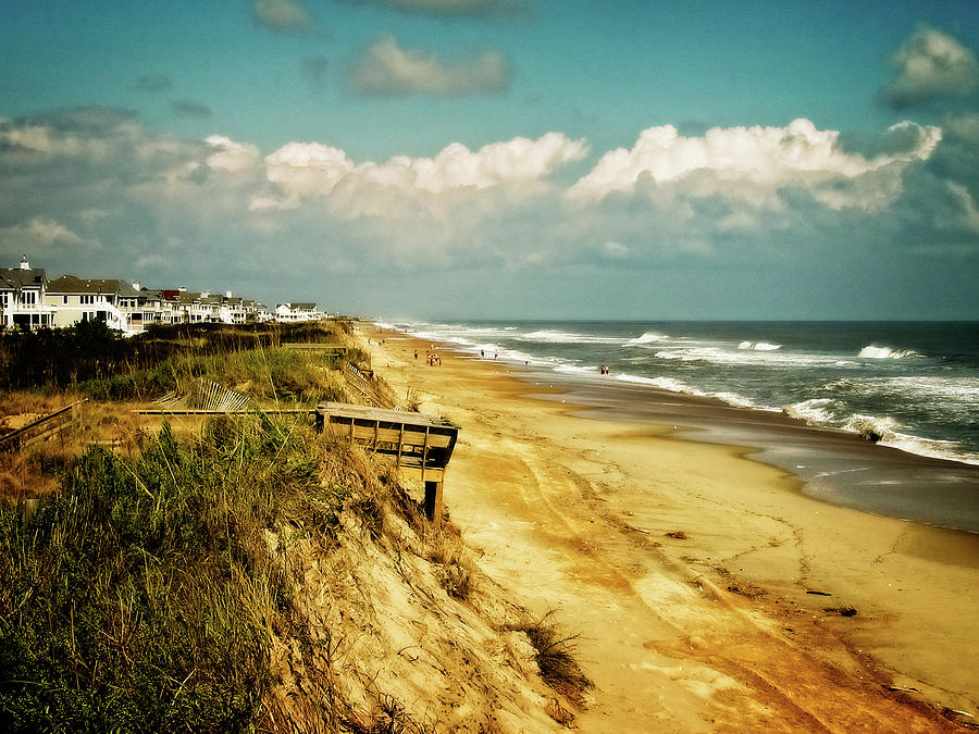 Beach at Corolla by Christopher Meade