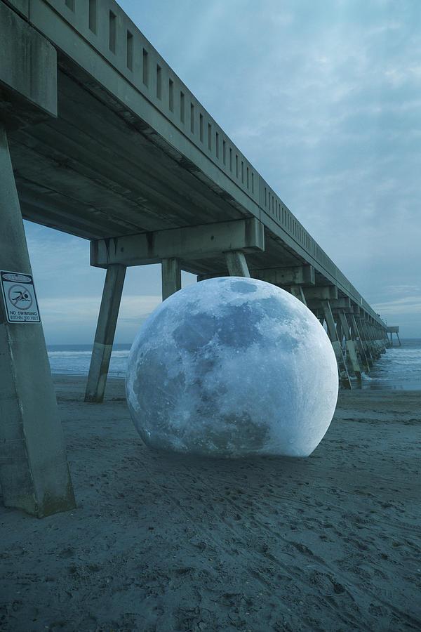 Beach Ball Digital Art