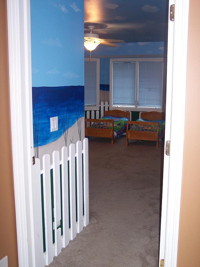 Beach Painting - Beach Bedroom IIi by Anna Villarreal Garbis