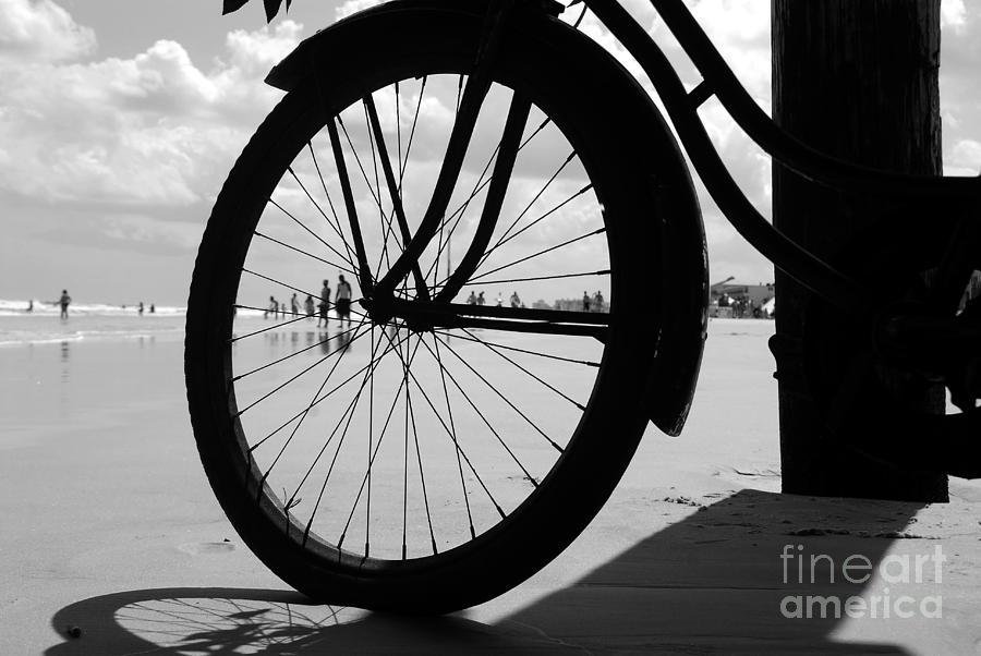 Beach Photograph - Beach Bicycle by David Lee Thompson
