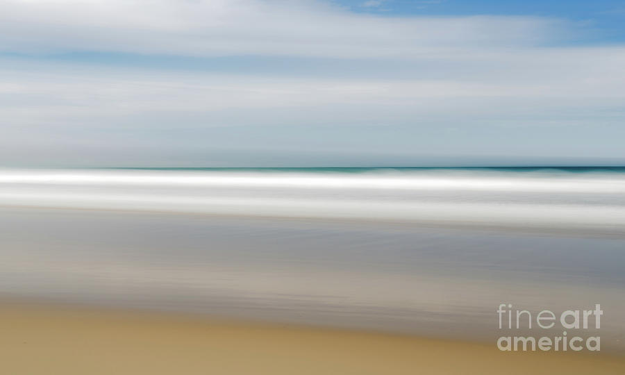 Beach Blur by Helen Woodford
