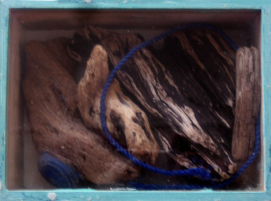 Driftwood Mixed Media - Beach Box II by Adam Kissel