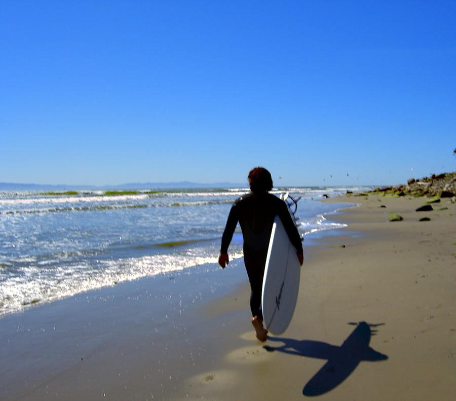 Sea Photograph - Beach Boy 1 by Robin Hernandez