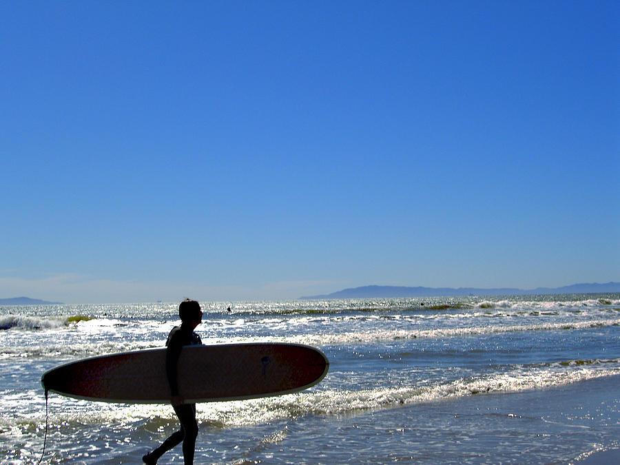 Beach Photograph - Beach Boy 2 by Robin Hernandez