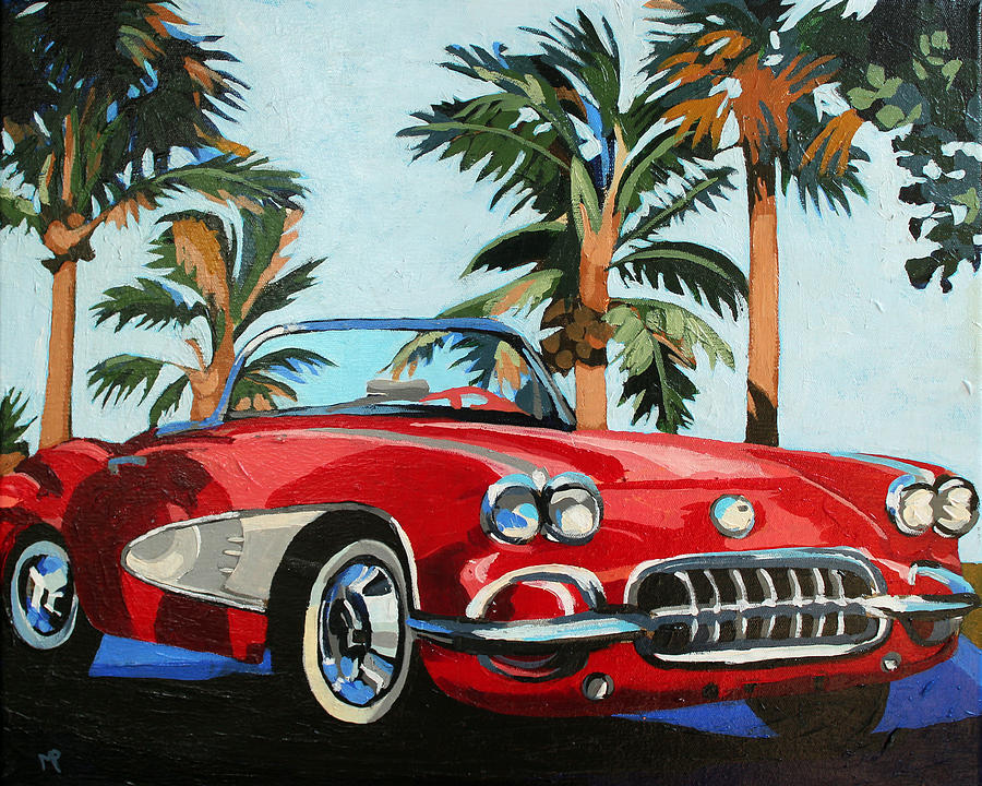 Beach Buggy Painting