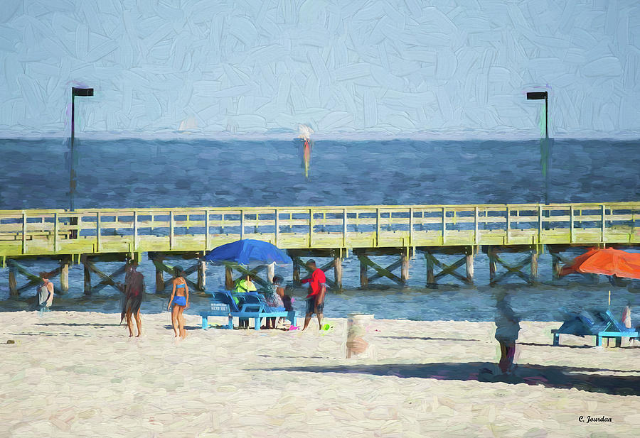 Beach by Cathy Jourdan
