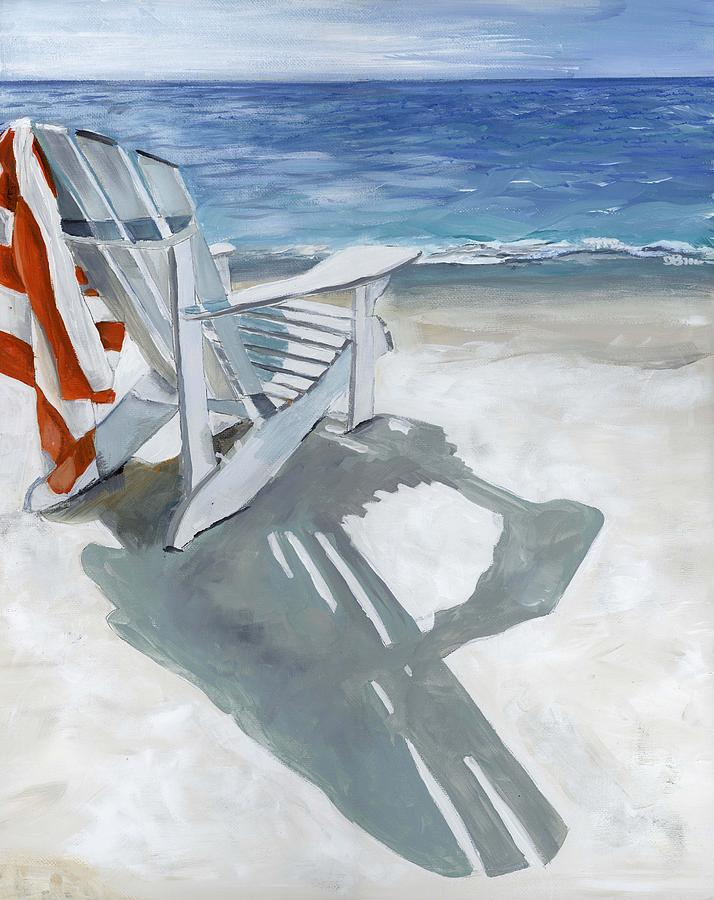 Beach chair by Debbie Brown