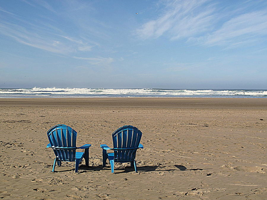 Beach Chair Pair by Suzy Piatt