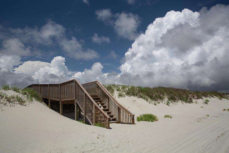 Beach Photograph - Beach Clouds by Jim Neal