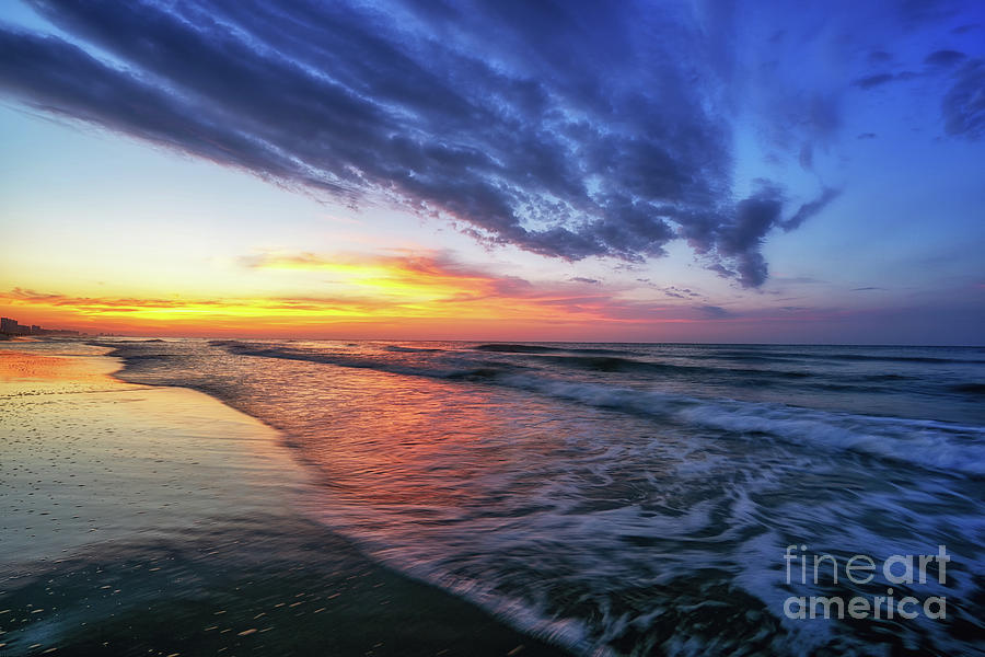 Beach Cove Sunrise by David Smith