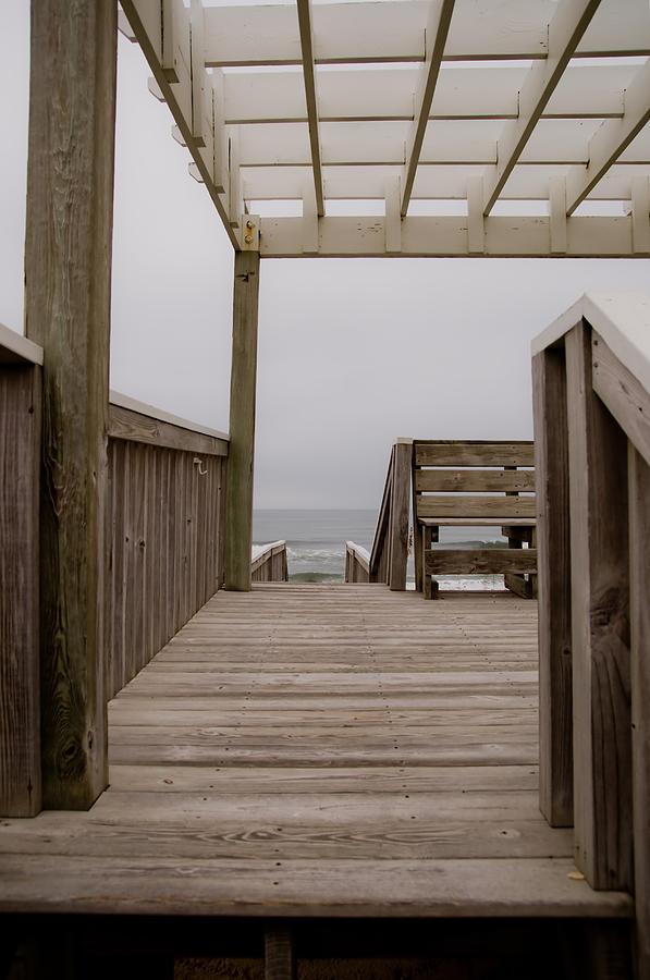 Beach Photograph - Beach Deck by Patrick  Flynn