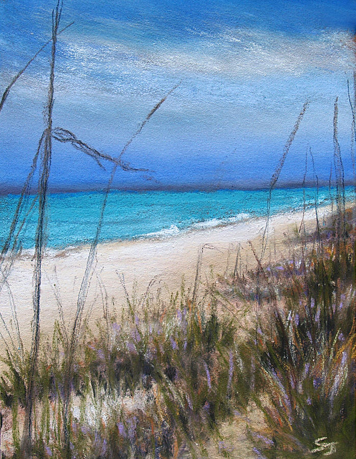 Beach Pastel - Beach Dreaming by Susan Jenkins
