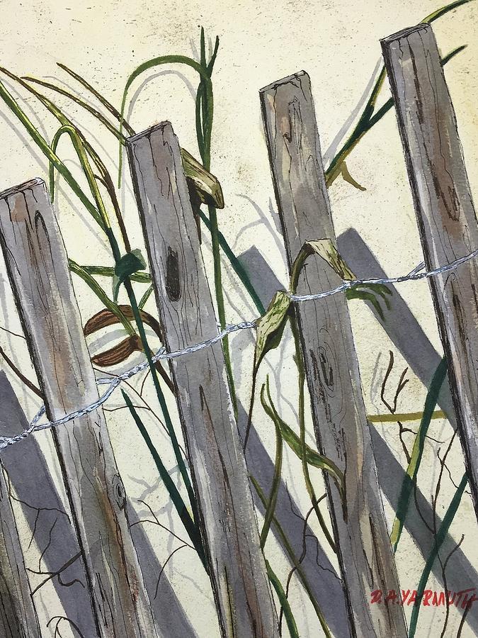 Beach Fence by Dale Yarmuth