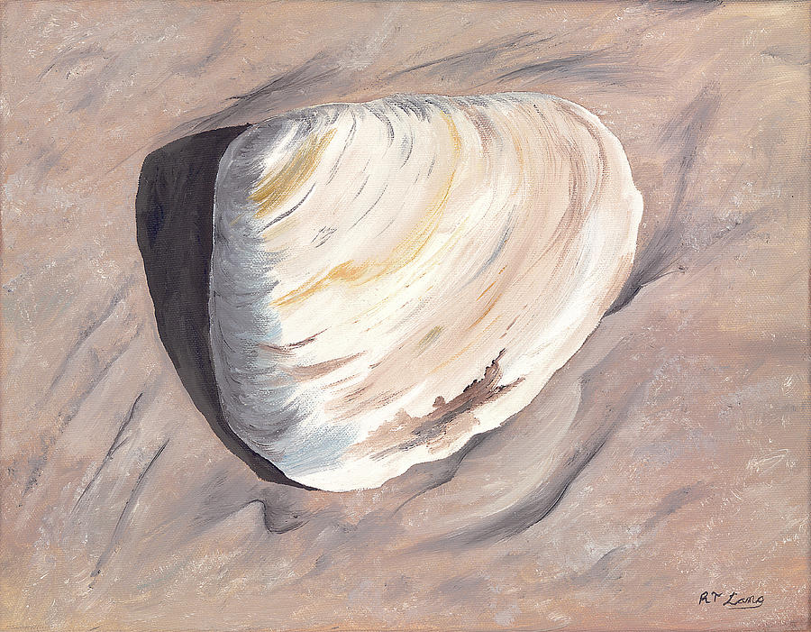 Beach Finds 1 Painting by Rick Lang