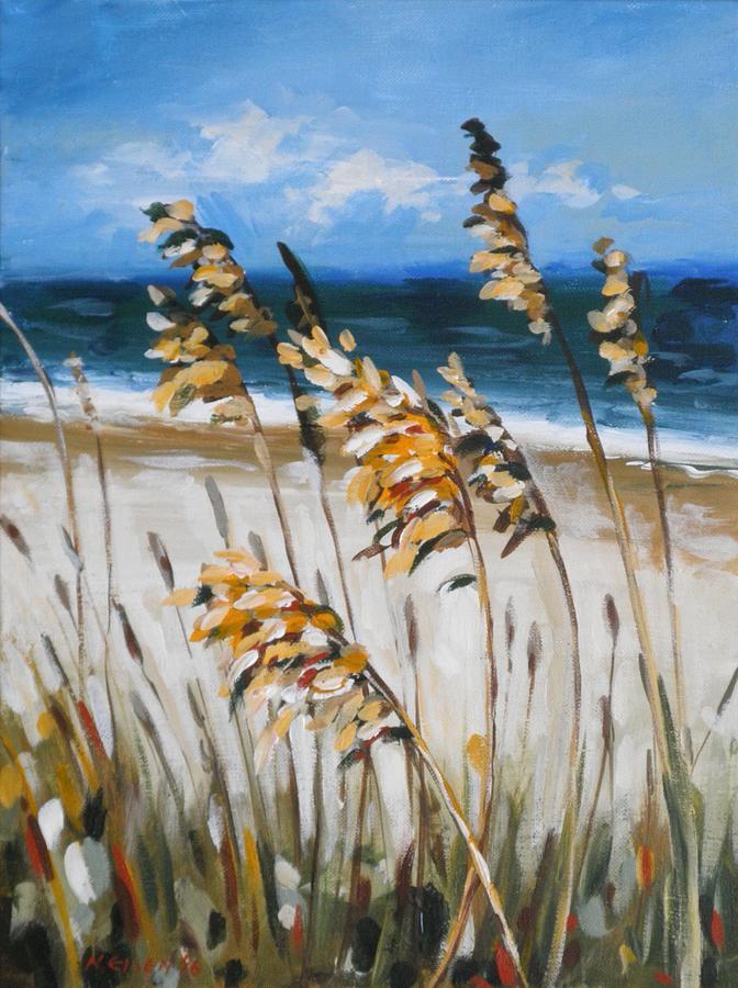 Beach Grass by Outre Art Natalie Eisen