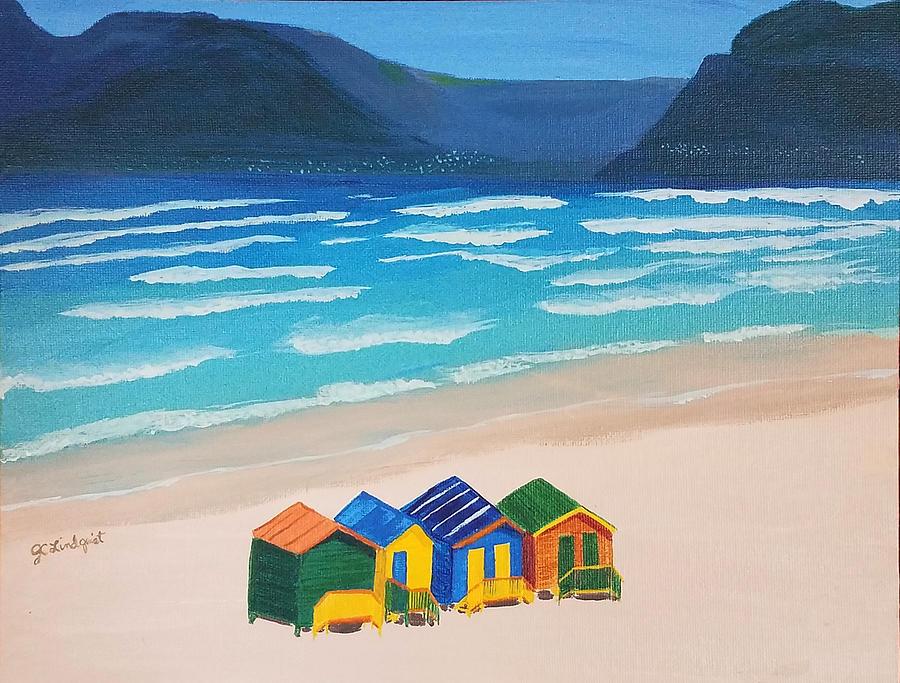 Beach Houses by Jenn C Lindquist