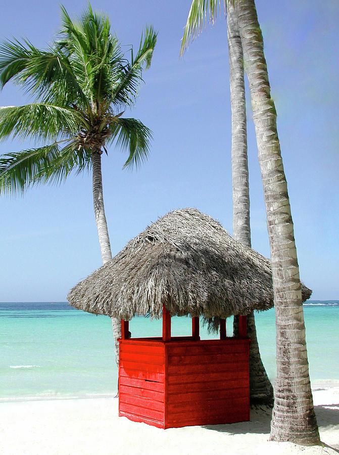 Beach Hut Photograph