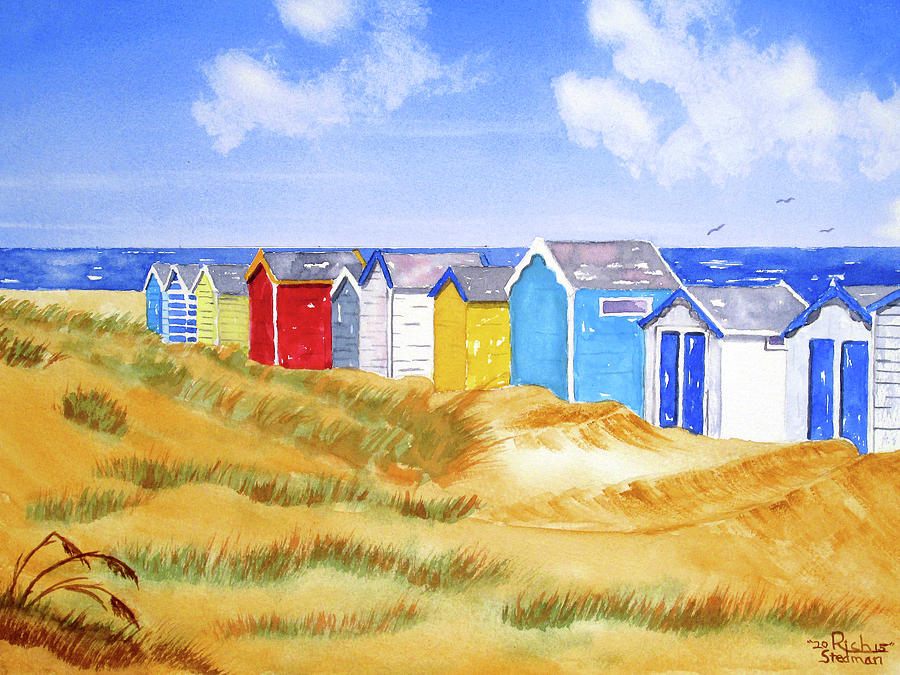 Beach Huts by Richard Stedman