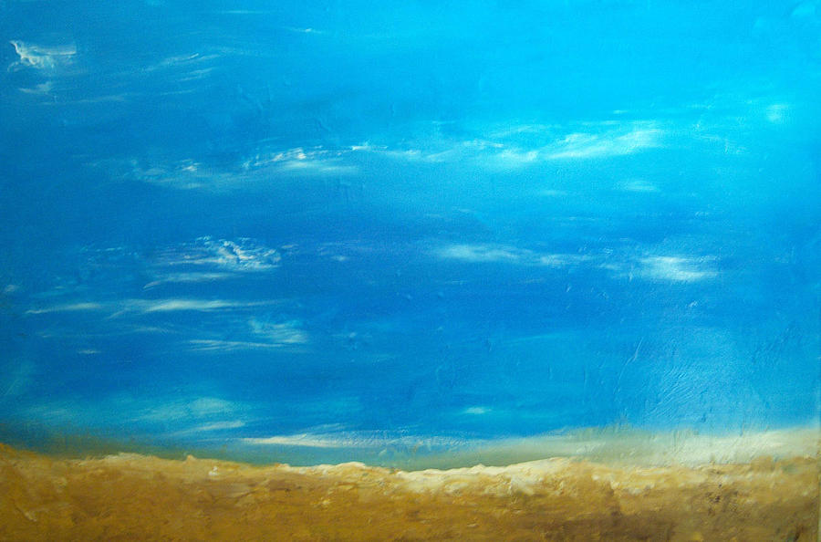 Beach Painting - Beach by KR Moehr