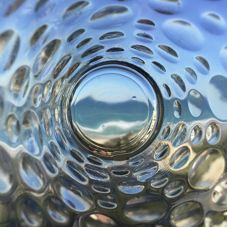 Beach Life Through The Looking Glass Photograph
