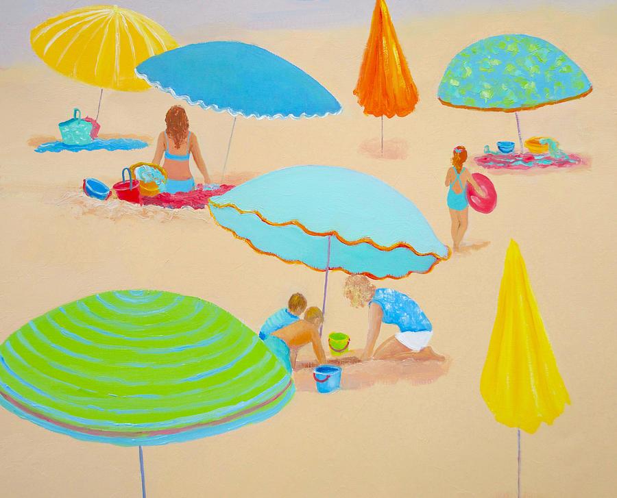 Beach Living Painting