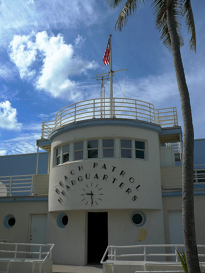 Beach Photograph - Beach Patrol Headquarters by Theresa Carter
