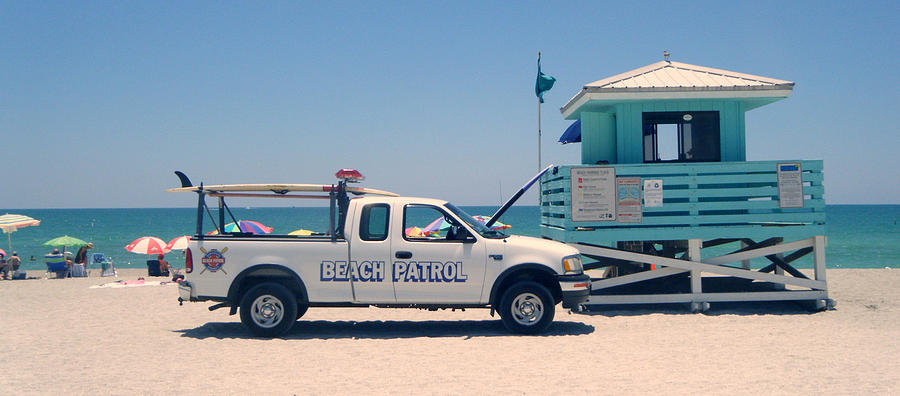 Beach Photograph - Beach Patrol by Steven Scott