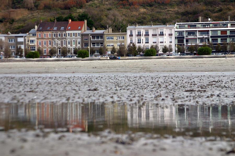 Photographer Photograph - Beach Reflections by Jez C Self