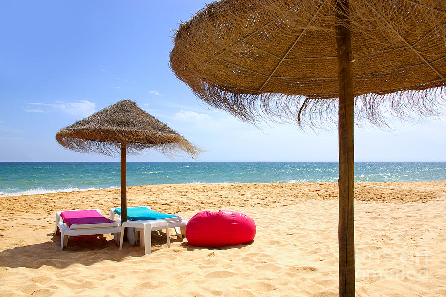 Algarve Photograph - Beach Relaxing by Carlos Caetano