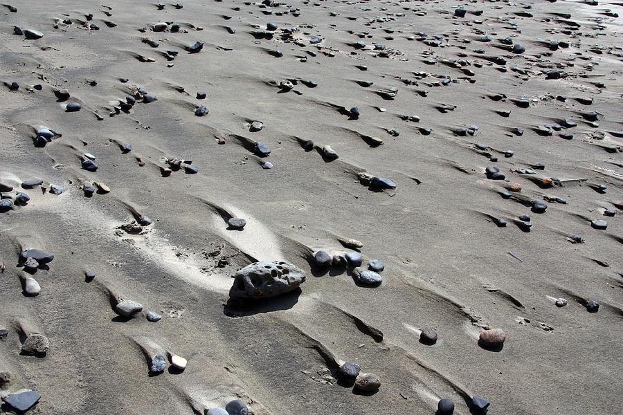 Beach Photograph - Beach Rocks 2 by Joanne Coyle