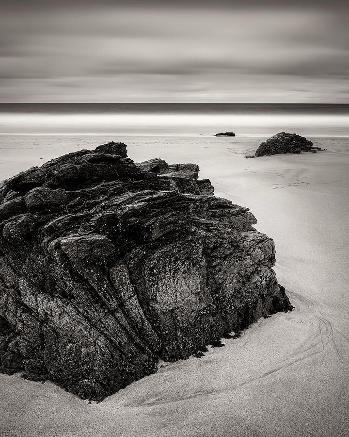 Beach Photograph - Beach Rocks by Dave Bowman