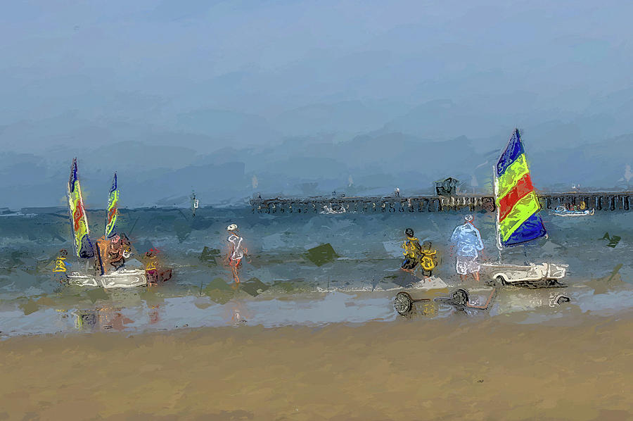 Beach Serene  Digital Art by Image To Media