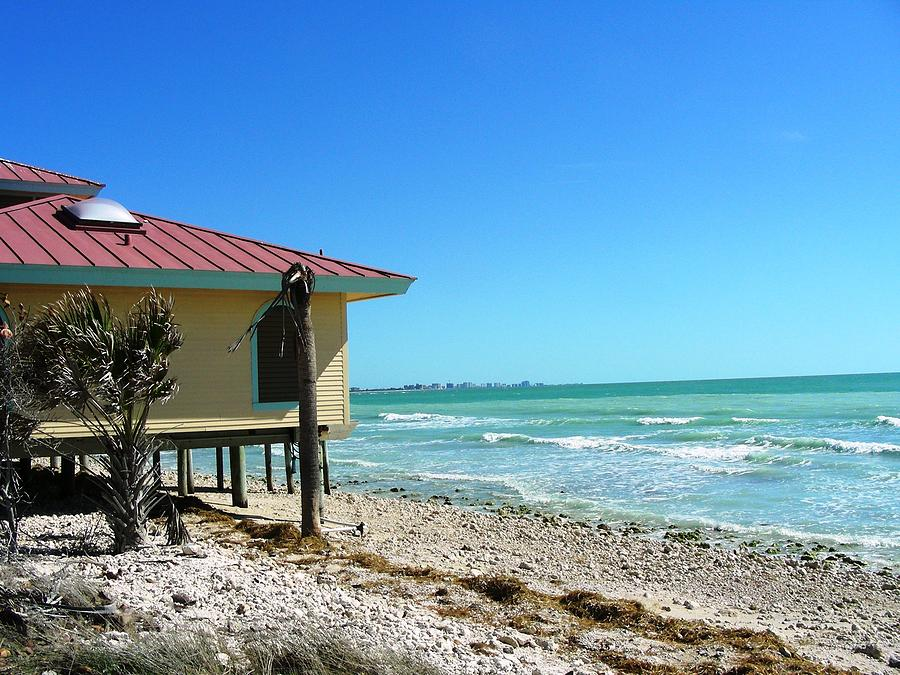 Beach Photograph - Beach Shack by Peter  McIntosh