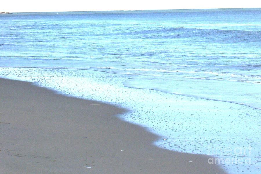 Beach Painting - Beach Shore 1 by Brian Booth