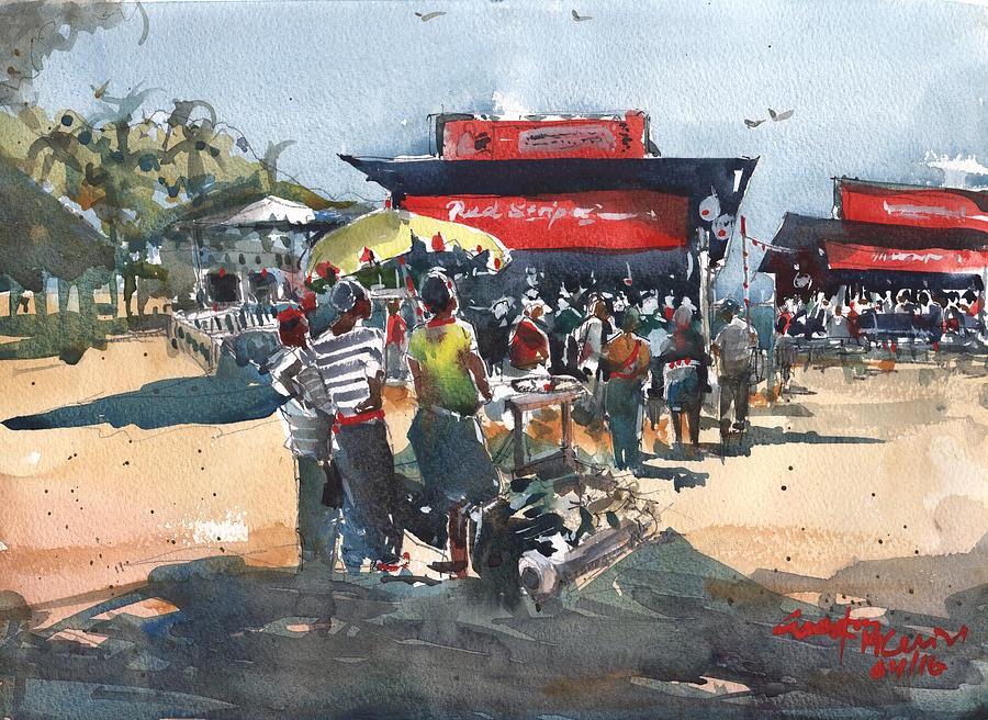 Beach show Jamaica by Gaston McKenzie