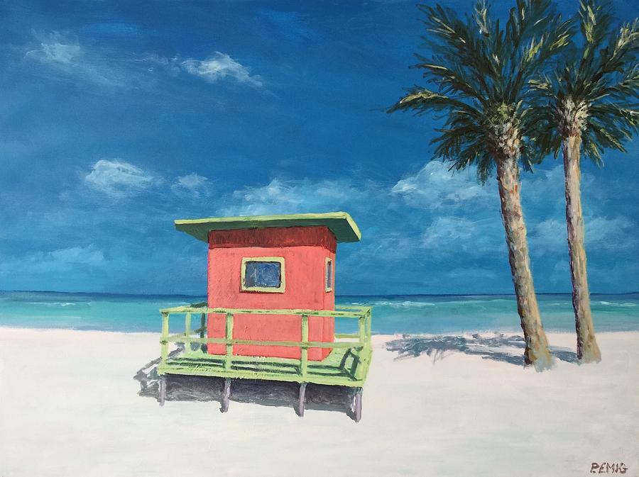 Beach Painting - Beach Solitude by Paul Emig