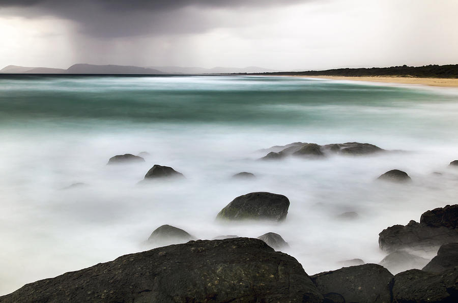 Beach Squall by Nicholas Blackwell